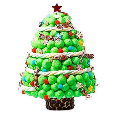 Tarta arbol de Navidad de chuches dulces: Amazon.es: Handmade