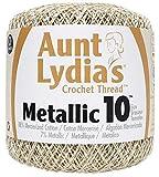 Aunt Lydia's Crochet Cotton Metallic Crochet Thread