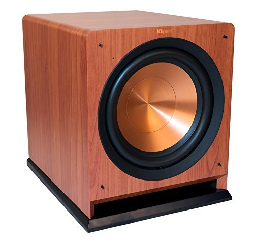 - Klipsch Reference R-112SW Subwoofer, Cherry