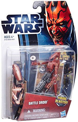 Battle Droid Red MH04 Episode I Star Wars Saga Legends Action Figure
