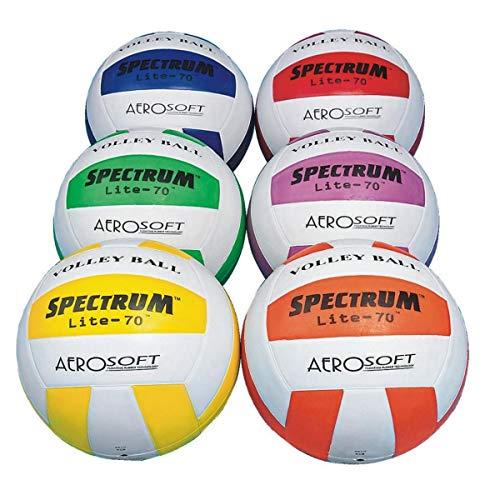S&S Worldwide Spectrum Lite-70 Volleyball Set (set of 6) by S&S Worldwide