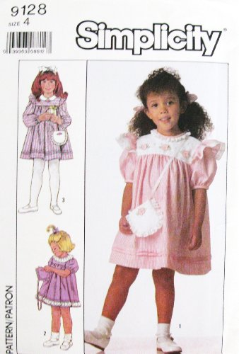 Buy matching girl and doll dress patterns - 7