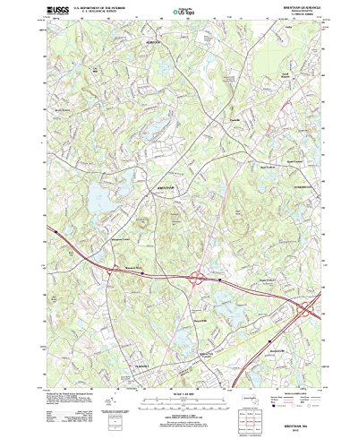 Massachusetts Maps | 2012 Wrentham, MA USGS Historical Topographic Map |Fine Art Cartography Reproduction - Wrentham Of Ma Map