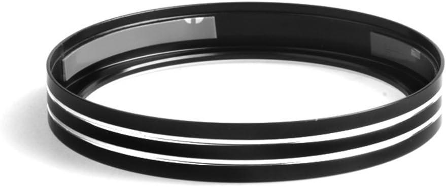 kesoto Moto Chrome Compteur De Vitesse Jauge De Garniture pour 883 1200 Noir