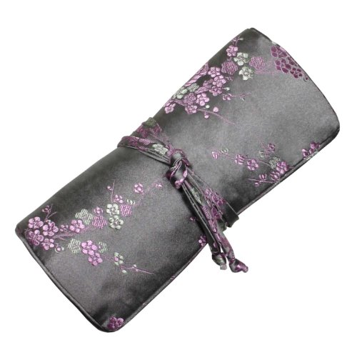 silk-brocade-jewelry-roll-plum-blossom-gray-pink
