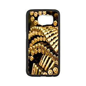 Sexyass Bullet Samsung Galaxy S6 Cases Elegant Design Bullets 4, Bullet Samsung Galaxy S6 Cases For Men [White]