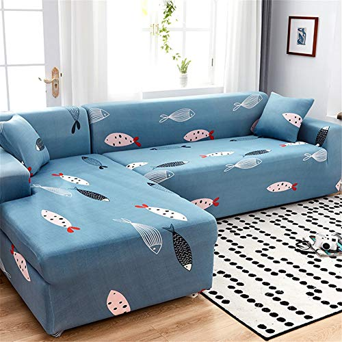 QBFT Estirable Chaise Longue Funda De Sofá 1 2 3 4 Plazas ...