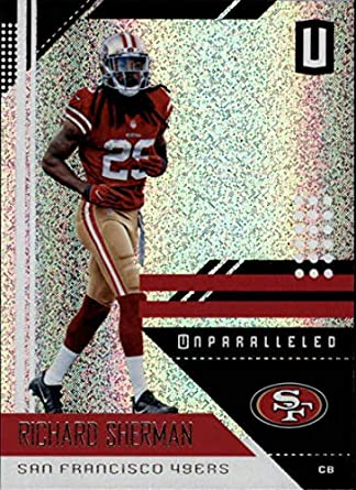 on sale f03b6 1d74a Amazon.com: 2018 Panini Unparalleled #173 Richard Sherman ...
