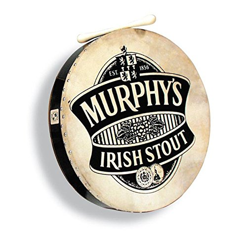 LP Murphy's Irish 18 Bodhran Drum w/ Case & Tipper by LP