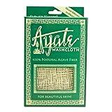 Flower Valley Ayate Washcloth, 100% Natural Agave Fiber Count