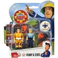 Sam El Bombero - Figura configurada con accesorios Serie 2 - Penny & Elvis