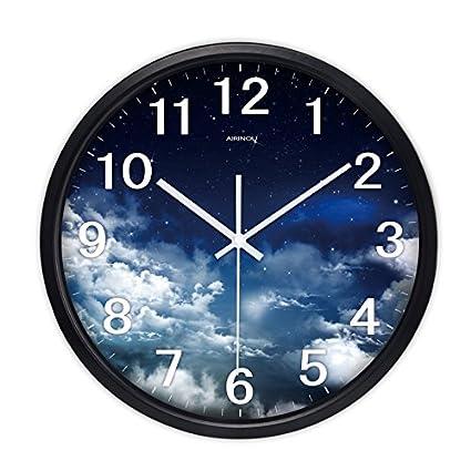 Relojes personalizados reloj de pared mute salón ideas dormitorio moderno minimalista reloj de cuarzo reloj de