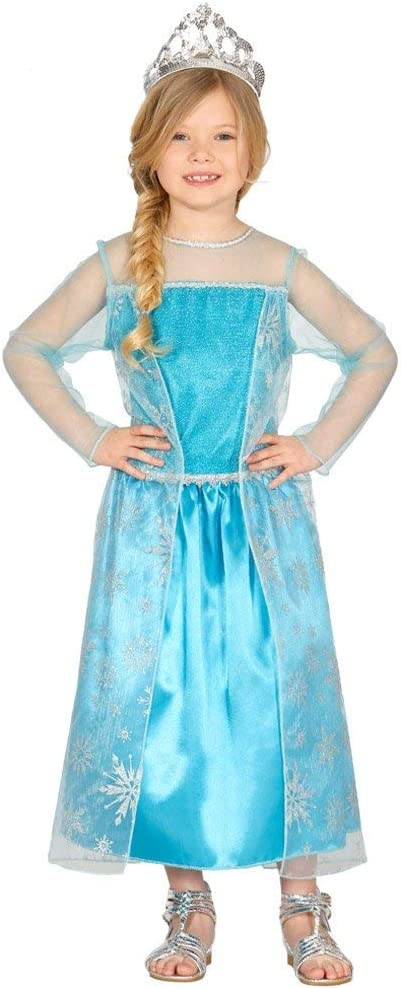 Karabu Disfraz de Reina de Las Nieves Vestido congelado Elsa niña ...