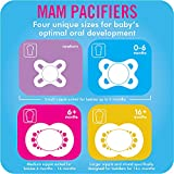 MAM Animal Pacifier (2 pack, 1 Sterilizing Pacifier Case), Pacifiers 16 Plus Months, Baby Girl Pacifier, Best Pacifiers for Breastfed Babies