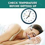 POPKA Basal Body Thermometer - Waterproof, Highly