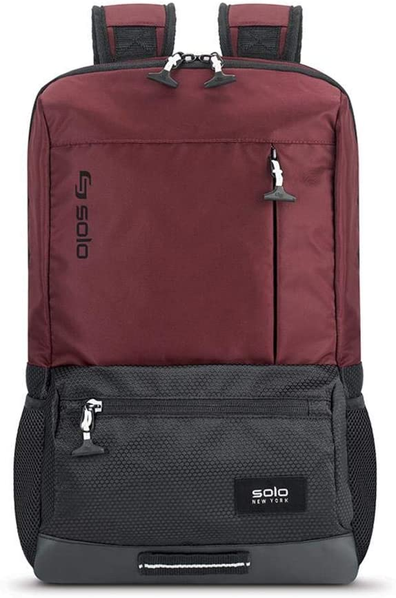 Solo Draft Slim Backpack, Burgundy
