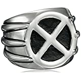 Marvel Comics Unisex Wolverine Stainless Steel Ring, Size 11