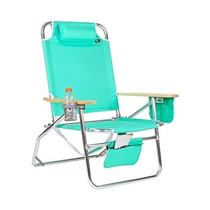 Amazon.com  Big Jumbo Heavy Duty 500 lbs XL Aluminum Beach Chair for Big u0026 Tall  C&ing Chairs  Sports u0026 Outdoors  sc 1 st  Amazon.com & Amazon.com : Big Jumbo Heavy Duty 500 lbs XL Aluminum Beach Chair ...