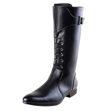 économiser jusqu'à 80% vêtements de sport de performance très loué Bottes Martin Pour Hommes Bottes Pointues Bottes Militaires ...
