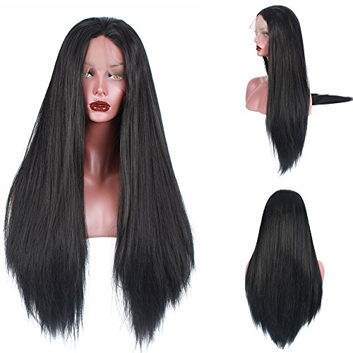 light-yaki-straight-250density-fashion-long-natural-straight-10human-hair-90heat-resistant-fiber-glu