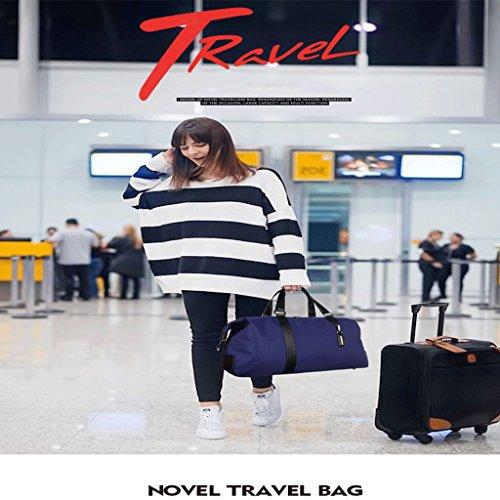 Los Qi De Azul Capacidad Viaje Hombres Bolsa Bolsa Bolsa De Viaje Dei Equipaje Bolsa De La De Femenino De Azul Grande Deporte Bolso color De Bolsa De PF7dg