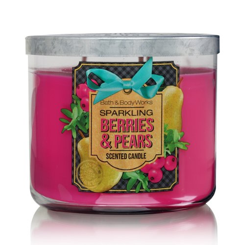 Euro 2008 Shirts (Bath Body Works Sparkling Berries & Pears 3-Wick Scented Candle)