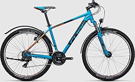 Cube Aim Allroad 27.5r atb/Mountain Bike 2017, azul/naranja: Amazon.es: Deportes y aire libre