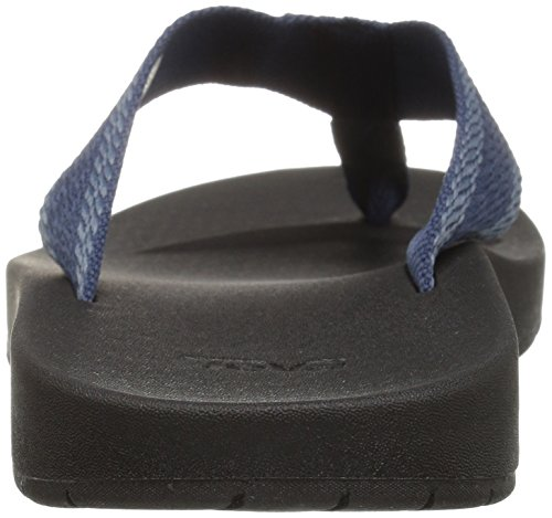 Pictures of Teva Men's M Azure Flip Sandal Feliz Navy 10 M US 1015125 8