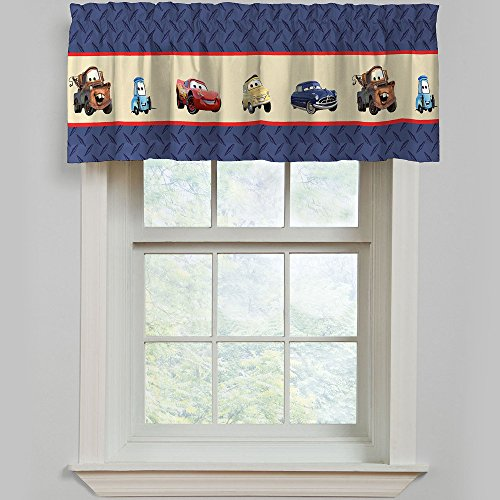 Disney Cars Line Up Window Valance -60x15