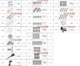 Kamas JYRC 9125 XLH 1/10 RC Car Spare Part Complete Parts 25-WJ02~25-DJ03 Motor Drive Shaft Drive Cup pin ESC Bearing Remote Screw etc - (Color: 25-ZJ07)