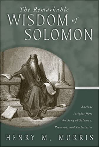 Bücher pdf-Dateien herunterladen The Remarkable Wisdom of Solomon B002G9U3SW by Henry M. Morris in German PDF RTF