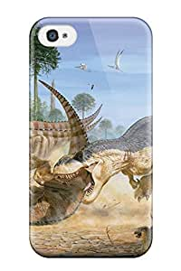 Lmf DIY phone caseIphone 4/4s Case Cover T-rex Attacking Case - Eco-friendly PackagingLmf DIY phone case