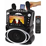 "New Home Karaoke System Karaoke USA Gf829 Dvd/cd+g/mp3+g W/7""tft Colored Screen"