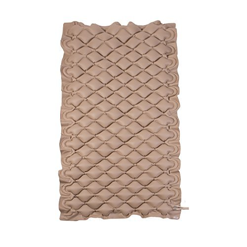 DMI Alternating Pressure Replacement Mattess Pad for Twin Size Beds, Tan by Duro-Med