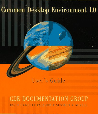 Common Desktop Environment 1.0 User's Guide