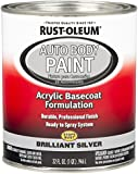 Rust-Oleum 275234 Brilliant Silver Automotive Auto Body Paint - 32 oz.