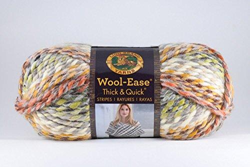 Lion Brand Yarn 640-612 Wool-Easethick & Quick, Coney (Island Crochet)