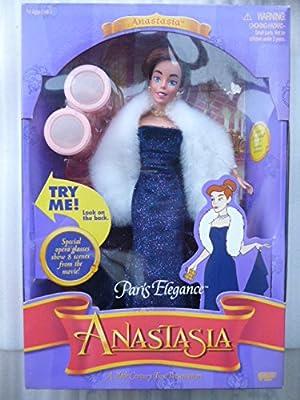 0292af4203ad Amazon.com: Barbie Anastasia Paris Elegance Doll: Toys & Games
