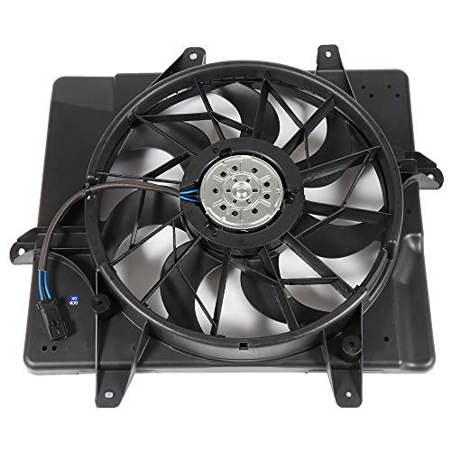 Aintier Aintier Electric Radiator Condenser Cooling Fan Assembly Replace fit for 2001-2008 Chrysler PT Cruiser