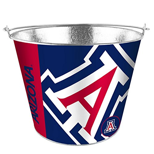 5 Qt Metal Bucket - NCAA Arizona Wildcats Hype Bucket