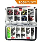 Sinrier Fishing Accessories Set Freshwater Saltwater Fishing Tackle Box,Fishing-Lure-Boxes-Bait Tackle-Plastic-Storage,Fishing-Accessories Stor, Small-Lure-Case