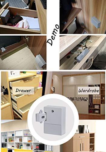 ETEKJOY RFID Electronic Cabinet Lock Hidden DIY for Wooden Drawer Cabinet by ETEKJOY (Image #2)