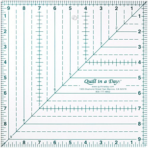 Quilt Day Inch Square Ruler