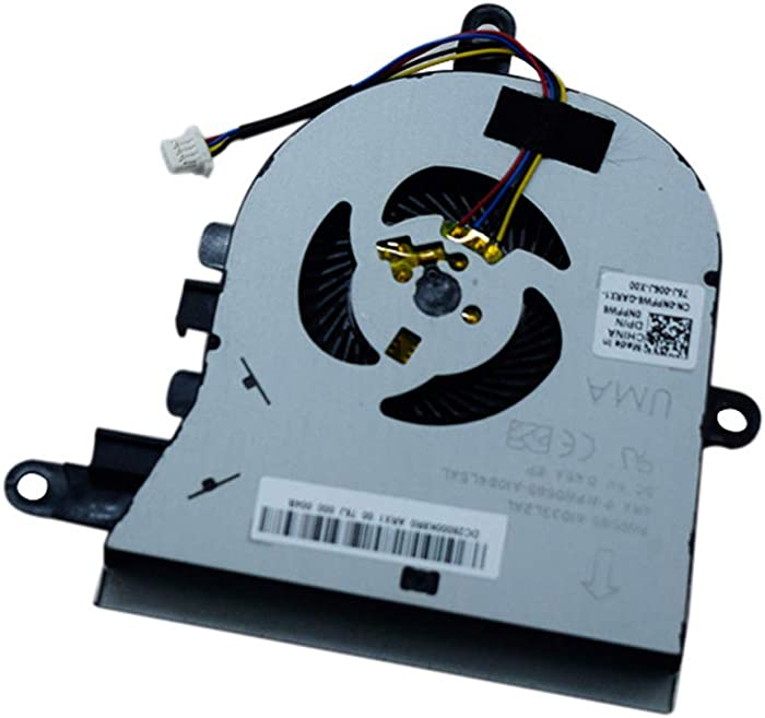 Replacement CPU Cooling Fan Compatible for Dell Latitude 3590 L3590 E3590 Inspiron 15 5570 5575 Series Laptop FX0M0 0FX0M0 cn-0FX0M0 DFS1503055P0T FK3A Replacement Cooler