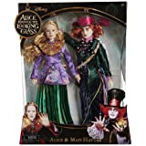 Disney Alice in Wonderland 11.5 inch Deluxe Collector Doll - Hatter and Alice by Tolly Tots