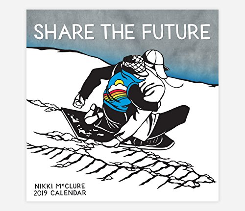 Nikki McClure Share The Future 2019 Calendar