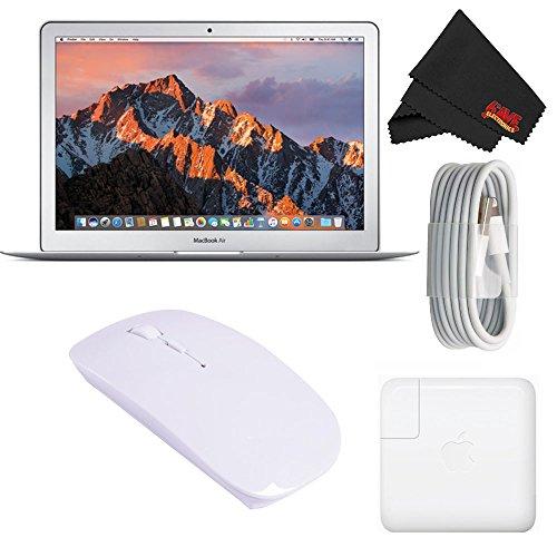 "Apple 13.3"" MacBook Air 128GB SSD #MQD32LL/A (Newest Version 2017 Model) Starter Bundle"