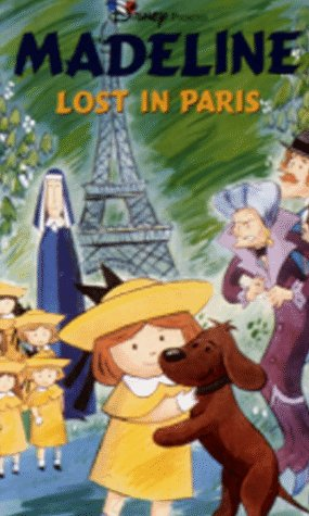amazon co jp madeline lost in paris animated vhs import