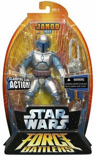 Hasbro Star Wars FORCE BATTLERS JANGO 85855