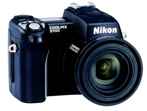 Nikon Coolpix 5700 5MP Digital Camera w/ 8x Optical Zoom (Discontinued by  Manufacturer)